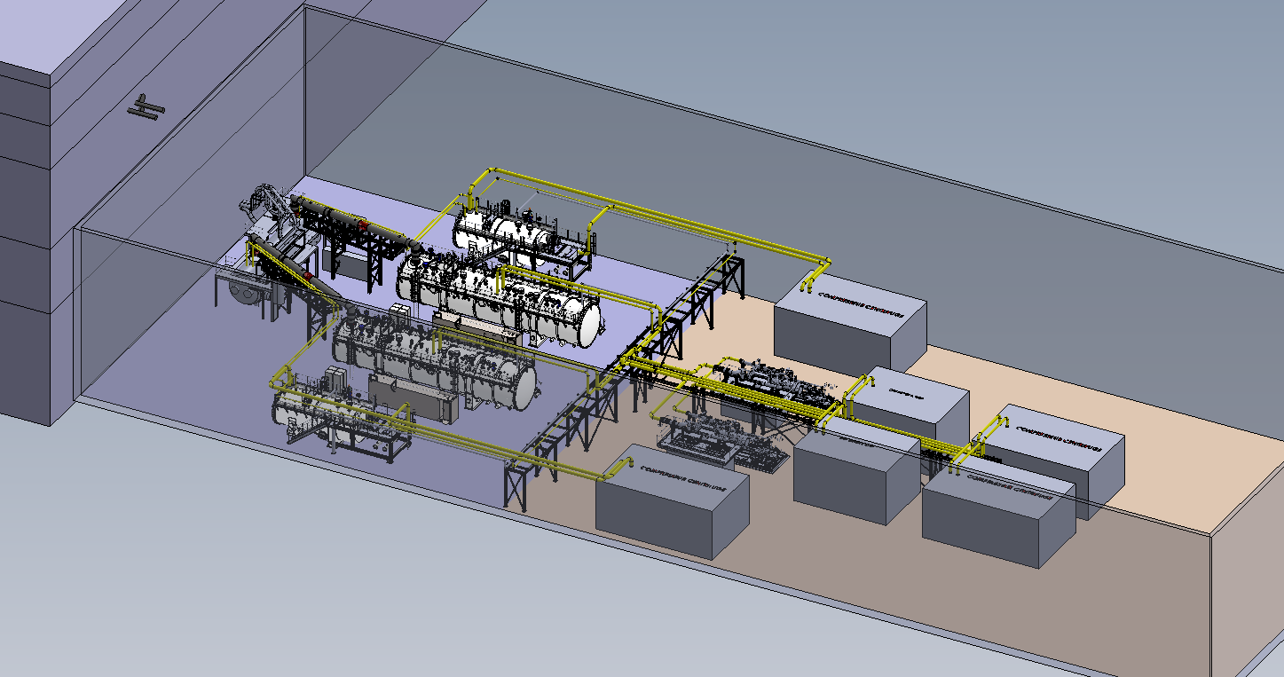 Preliminary layout.